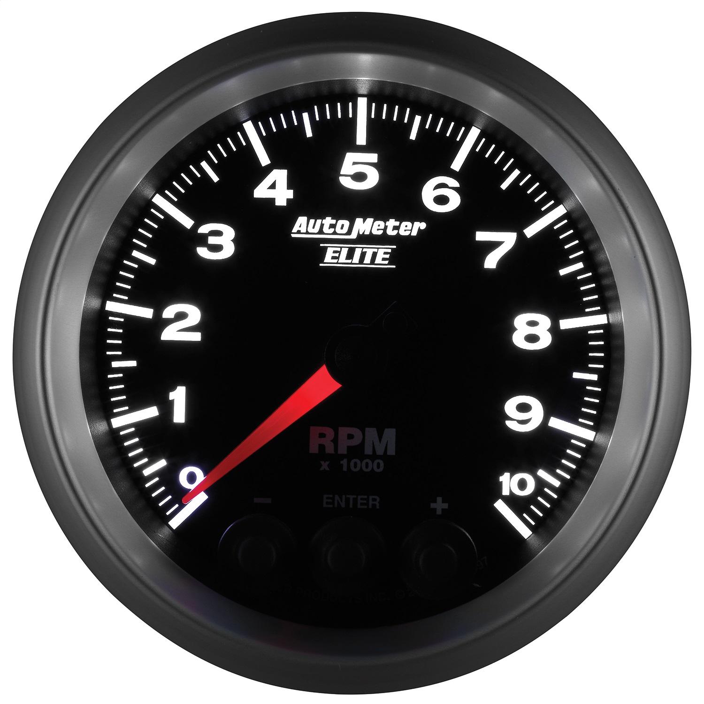 Auto Meter 4798 Carbon Fiber Electric In-Dash Tachometer