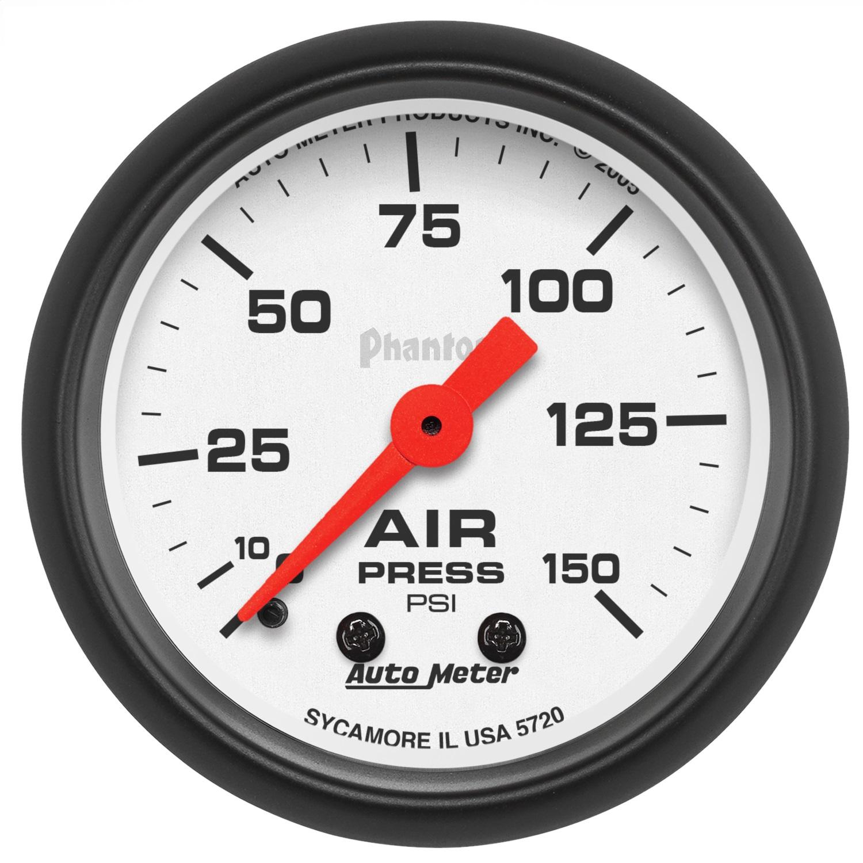 Autometer Phantom Oil Pressure Gauge
