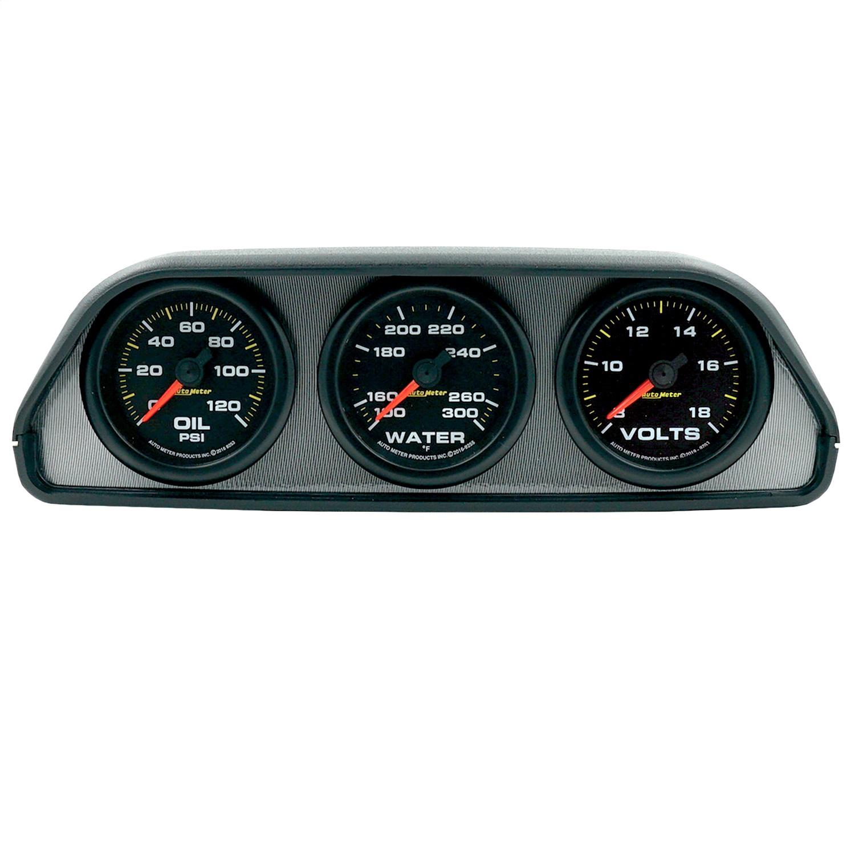 AutoMeter 7060 Extreme Environment Dash Pod w/Gauges