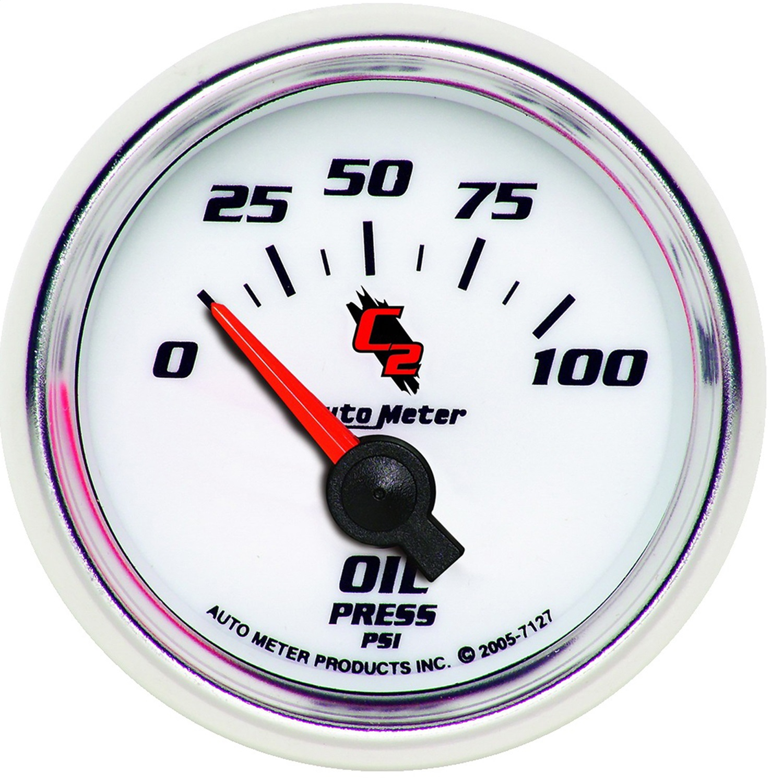 Electric Oil Pressure Gauge