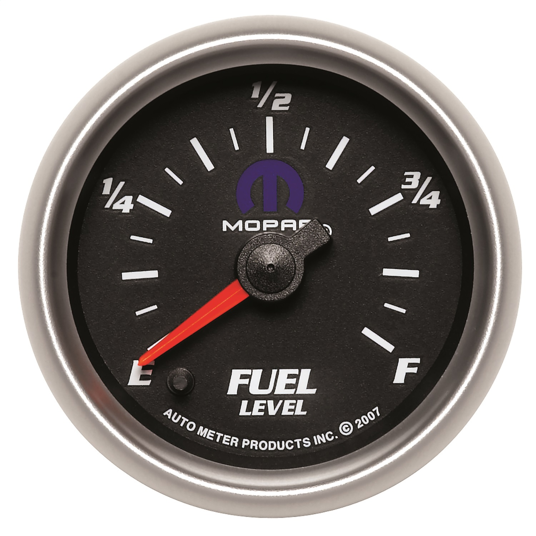 Auto Meter 4910 Ultra-Lite II 2-1//16 0-280 ohms Full Sweep Electric Fuel Level Programmable Empty Full Range Gauge