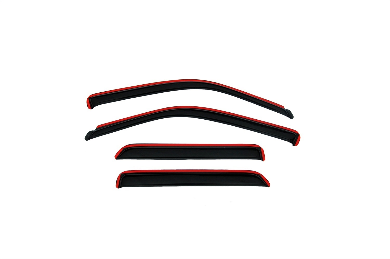 R 94655 fits 07-11 Honda CR-V Side Window Vent-Ventvisor Deflector 4 pc
