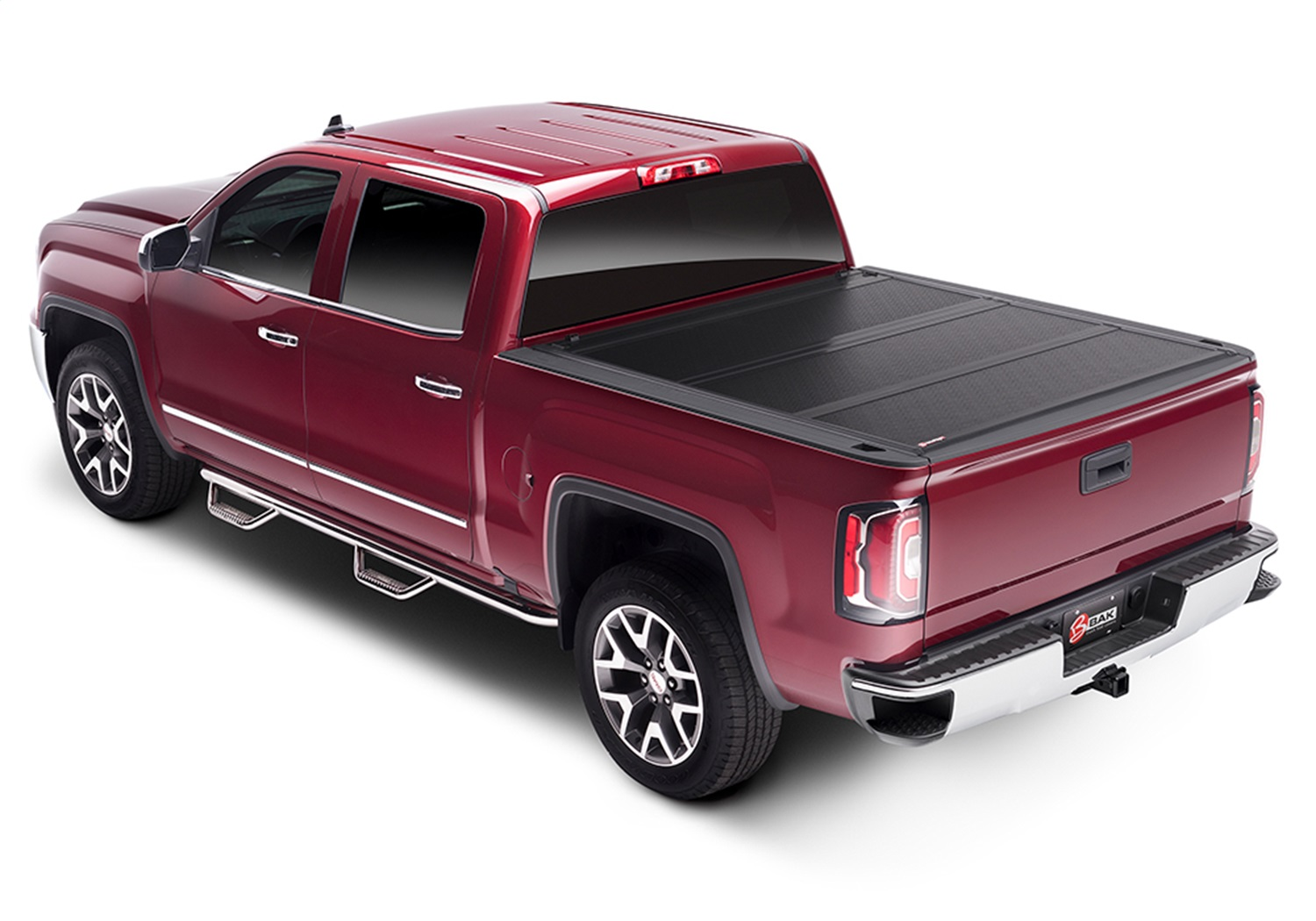 BAK Industries 1126120 BAKFlip FiberMax Hard Folding Truck Bed Cover