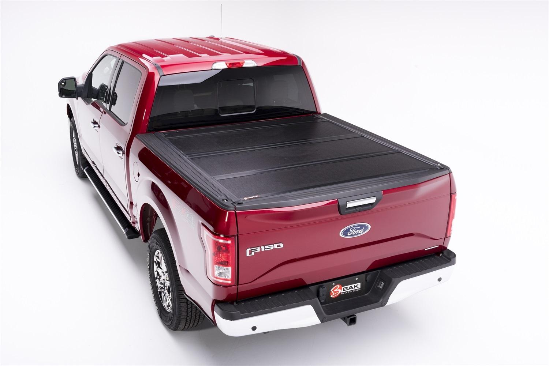 BAK Industries 772327 BAKFlip F1 Hard Folding Truck Bed Cover Fits 15-20 F-150