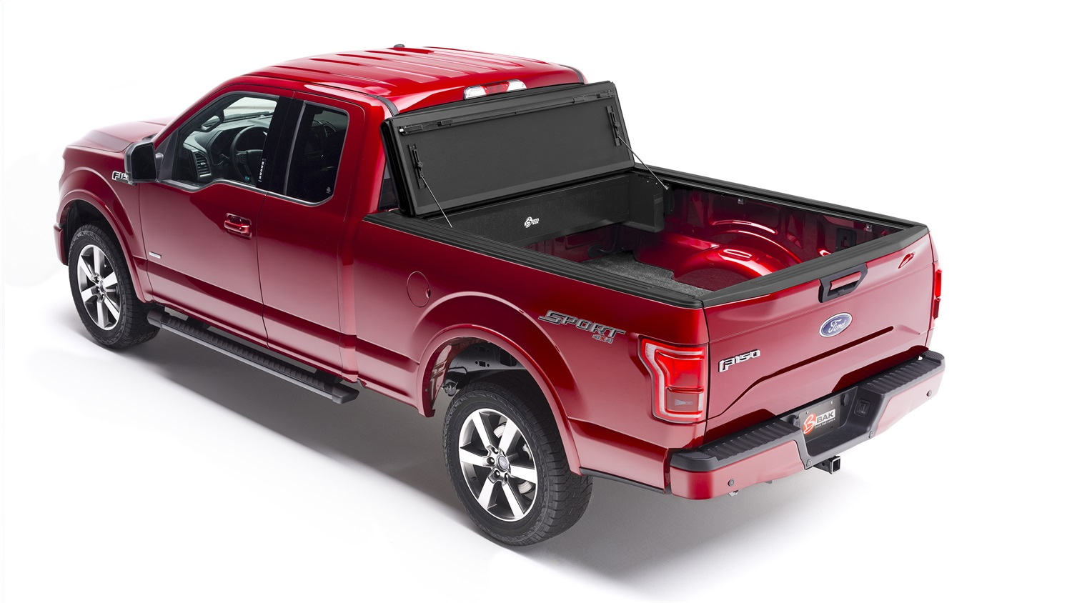 BAKBox 2 Tonneau Cover Fold Away Utility Box, For Use w/All BAKFlip Styles/Roll-X And Revolver X2