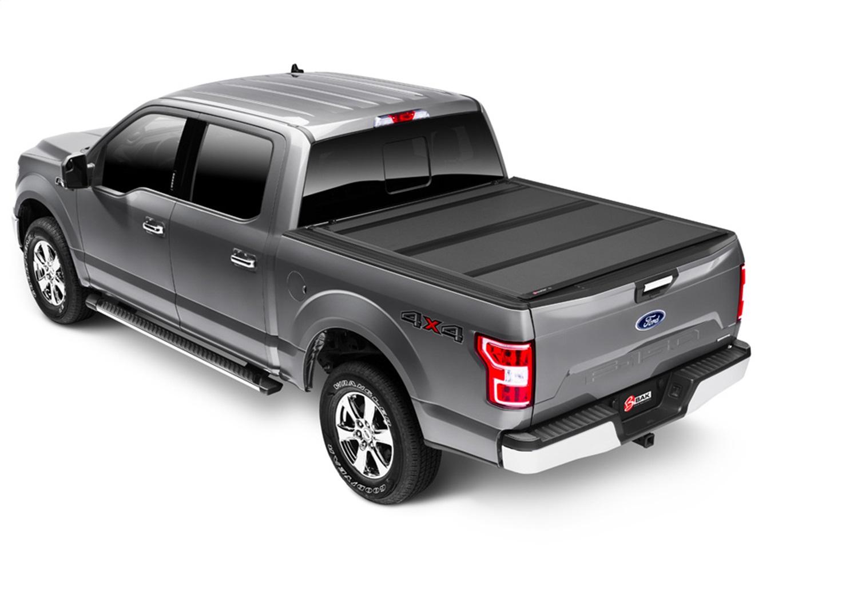 BAKFlip MX4 Hard Folding Truck Bed Cover, Black, Aluminum, Matte Finish