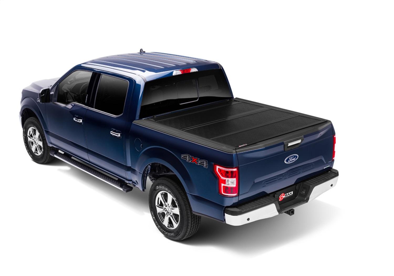 BAK Industries 1126329 BAKFlip FiberMax Hard Folding Truck Bed Cover Fits F-150