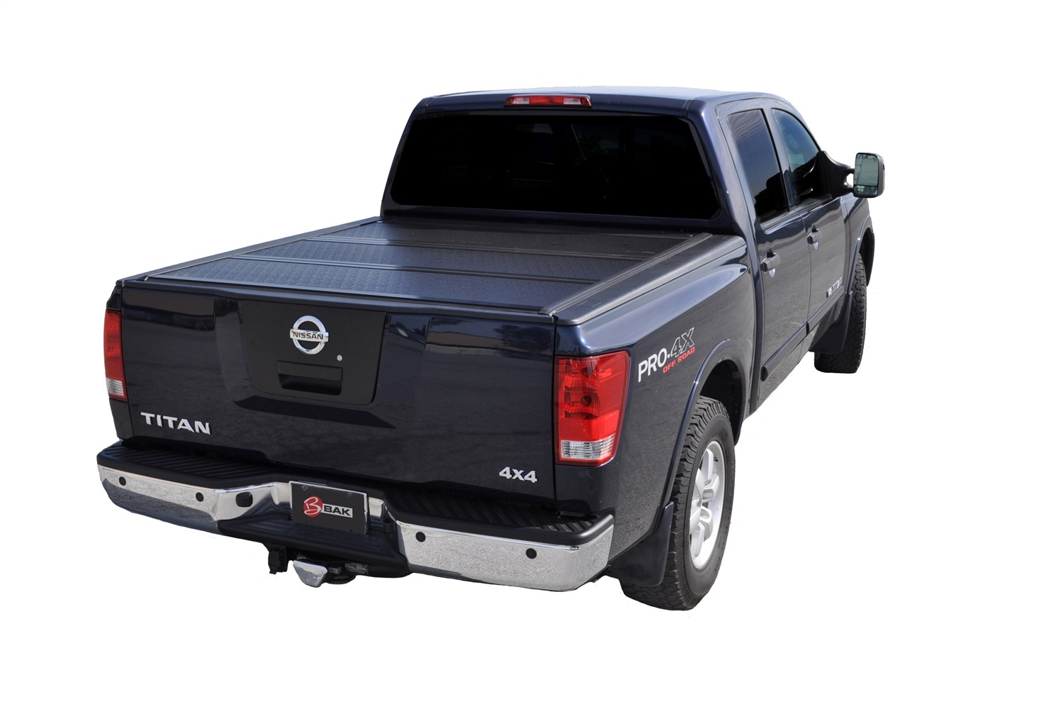 BAK Industries 226525 BAKFlip G2 Hard Folding Truck Bed Cover Fits 17-20 Titan