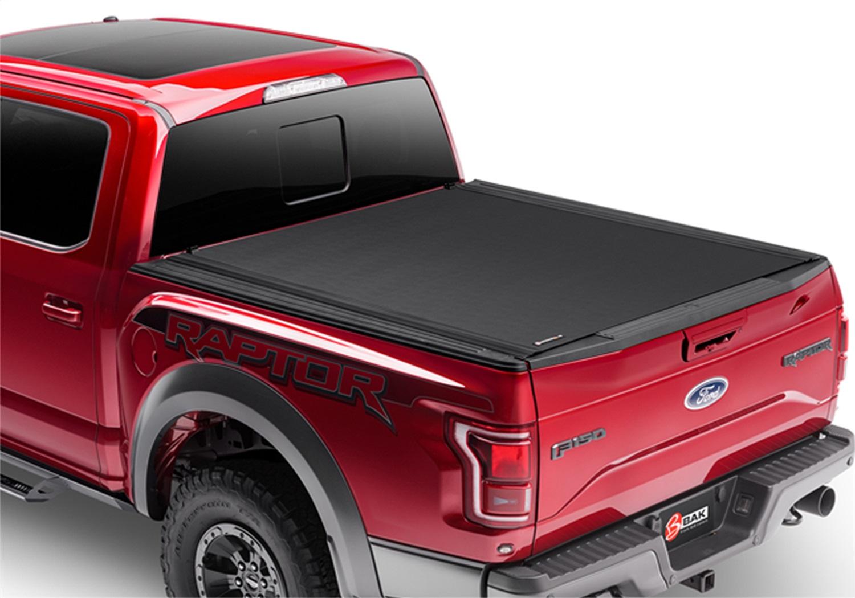 Revolver X4 Hard Rolling Truck Bed Cover, Black, Vinyl Top w/ Aluminum Underside, Matte Black Finish