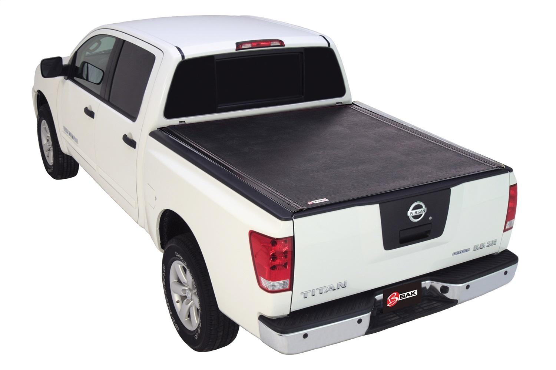 BAK Industries 39525 Revolver X2 Hard Rolling Truck Bed Cover Fits 17-21 Titan