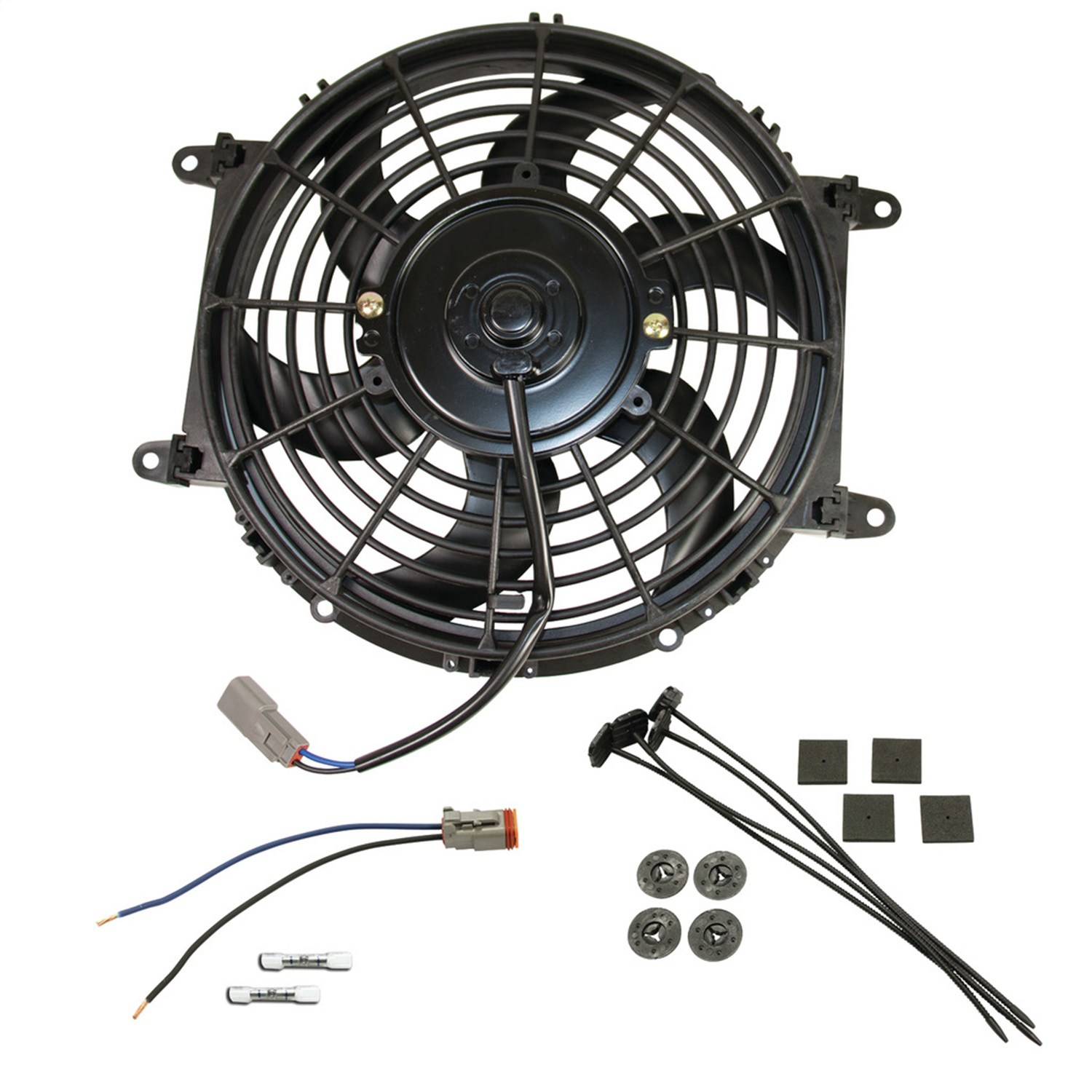 BD Diesel Performance 1030607 Universal Electric Cooling Fan Kit