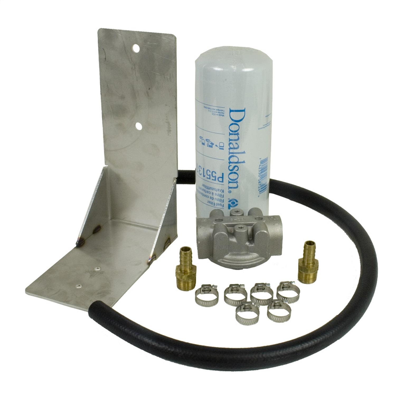 BD Diesel 1050060 Remote Fuel Filter Kit