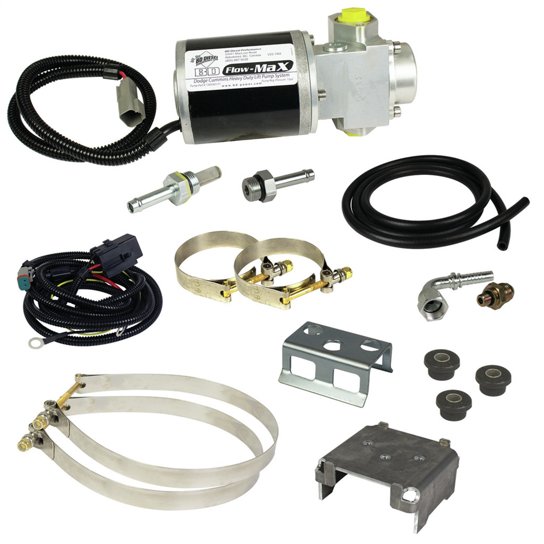 BD Diesel 1050301D Flow-MaX Fuel Lift Pump Fits 98-02 Ram 2500 Ram 3500