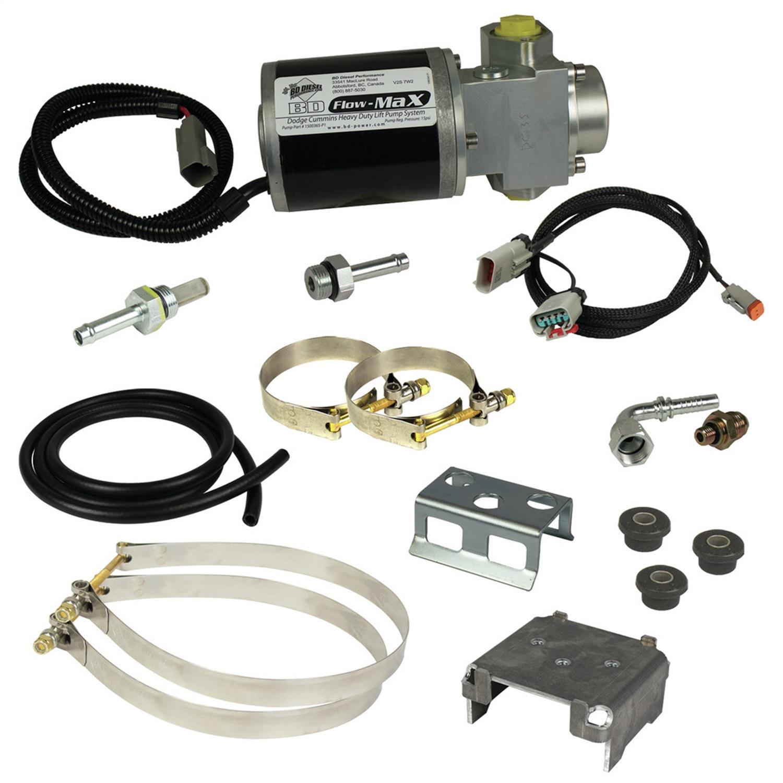 BD Diesel 1050310D Flow-MaX Fuel Lift Pump