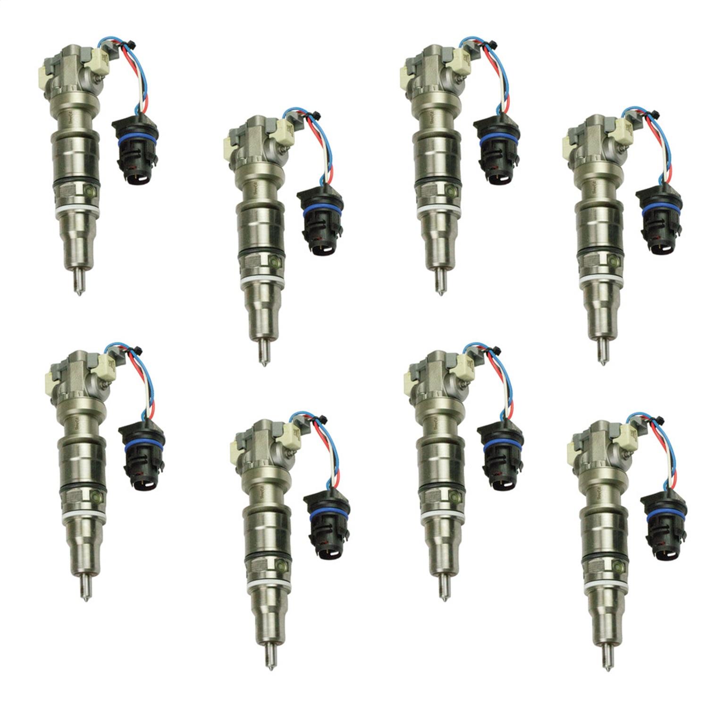 BD Diesel 1077001 Fuel Injector Set Fits 04-07 F-250 Super Duty F-350 Super Duty