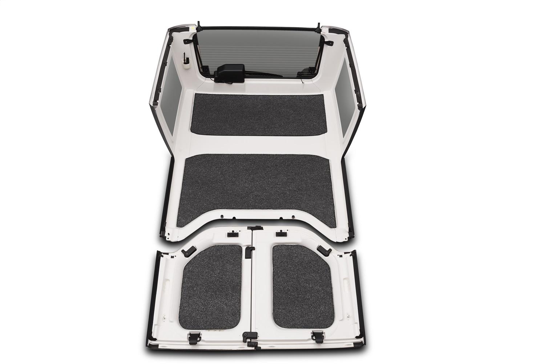 BedRug HLJK074DRK BedRug Headliner Kit Fits 07-10 Wrangler (JK)