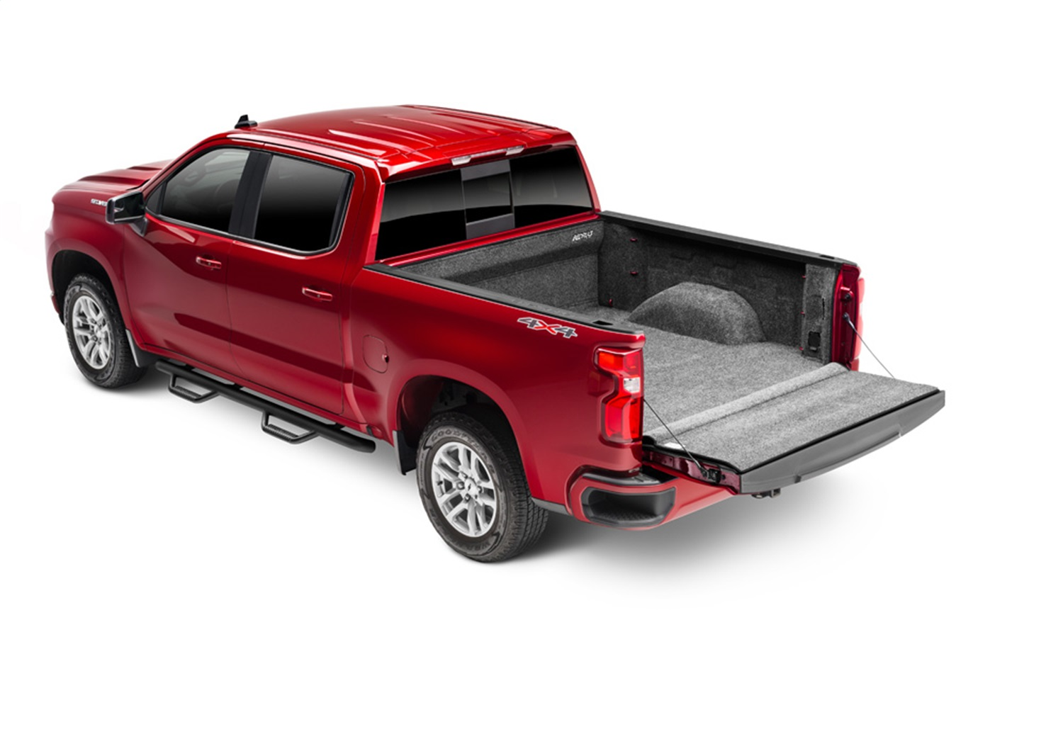 BedRugr Complete Truck Bed Liner, 3/4 in. Thick Floor, 1/4 in. Thick Side Walls, Incl. Bulkhead And Tailgate, Fits Vehicles w/o Multi-Pro Tailgate