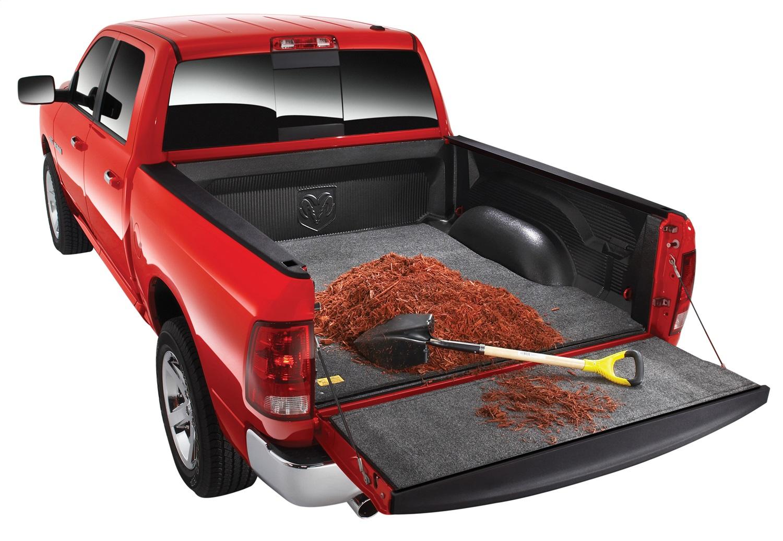 BedRugr Floor Truck Bed Mat, 1/2 in. Thick, Installs Over Existing Plastic Drop In Bed Liner
