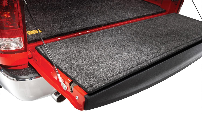 BedRugr Tailgate Mat, 29 in. Length, 9 in. Width, Polypropylene, Charcoal