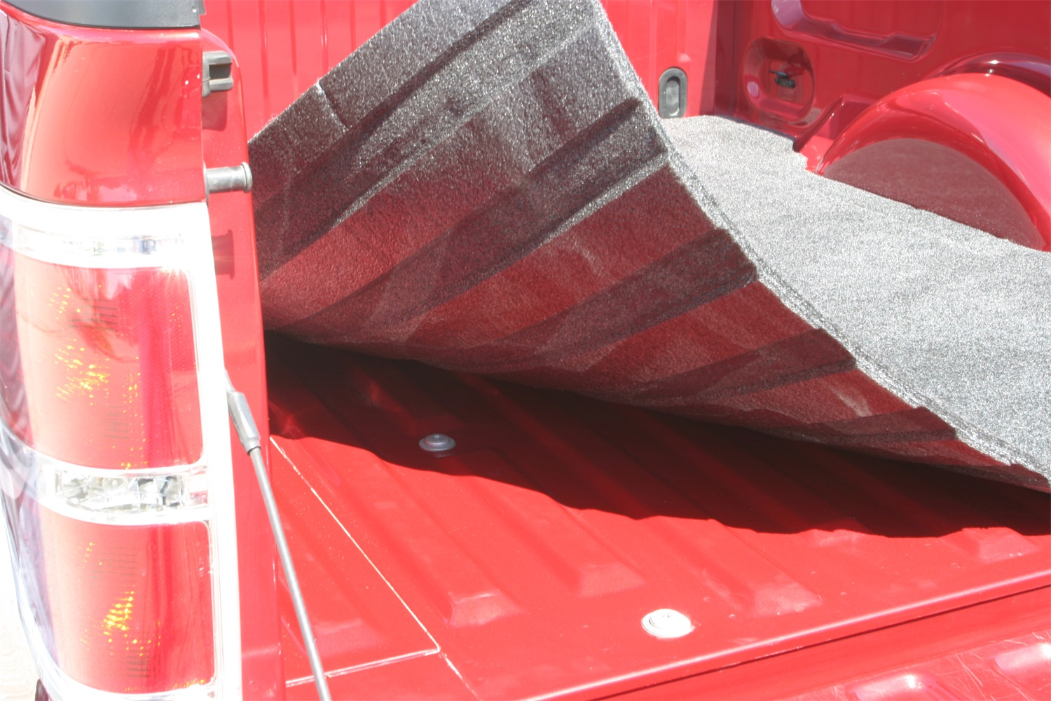 BedRugr Floor Truck Bed Mat, 3/4 in. Thick, For Use w/Spray On Bed Liner And Non Liner Applications