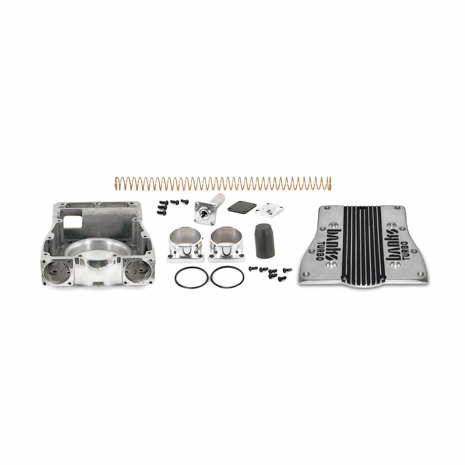 Banks Power 21112 Pressure Chamber Kit-Twin Turbo System