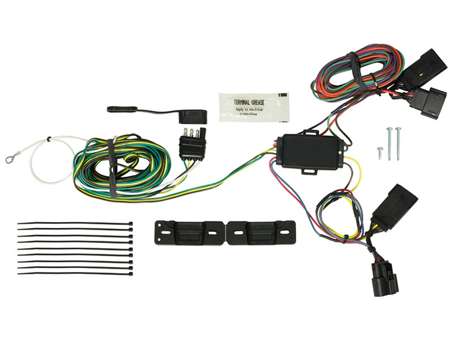 Blue Ox BX88338 EZ Light Wiring Harness Kit