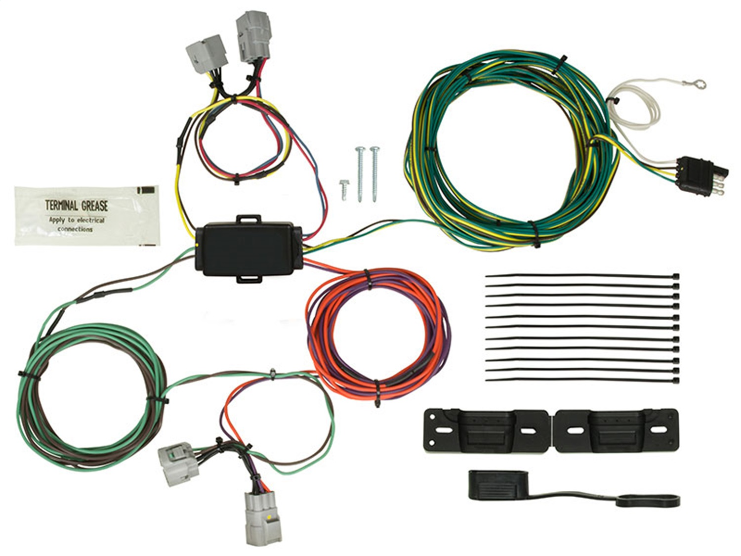 Blue Ox BX88339 EZ Light Wiring Harness Kit