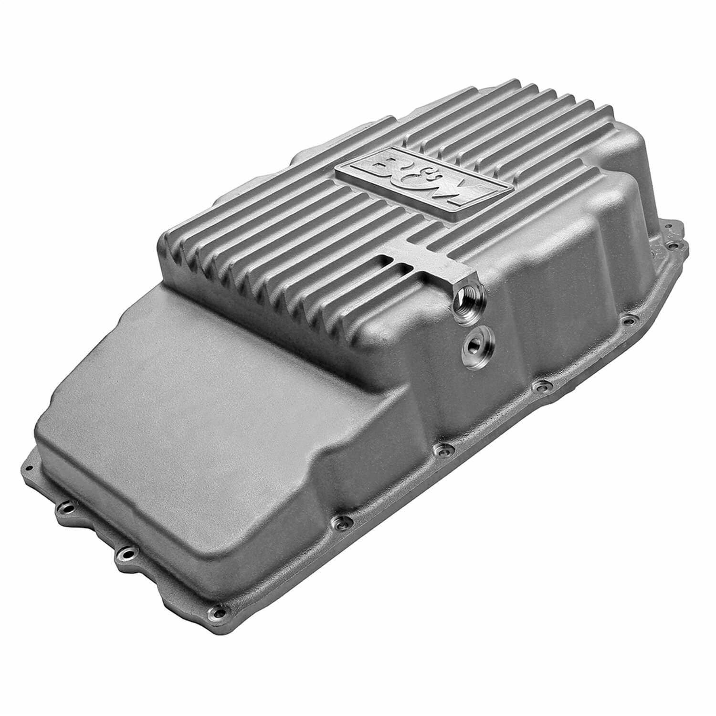 B&M 70399 Hi-Tek Transmission Oil Pan Fits 19-21 Sierra 1500 Silverado 1500