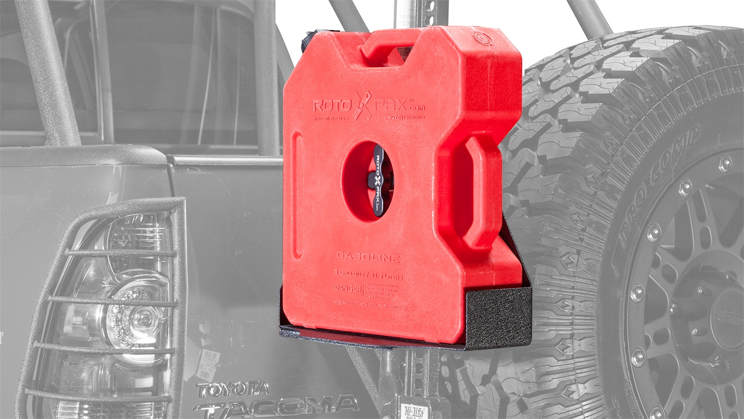 Body Armor 5132 Roto-Pax Gas Can Cradle Fits 05-15 Tacoma