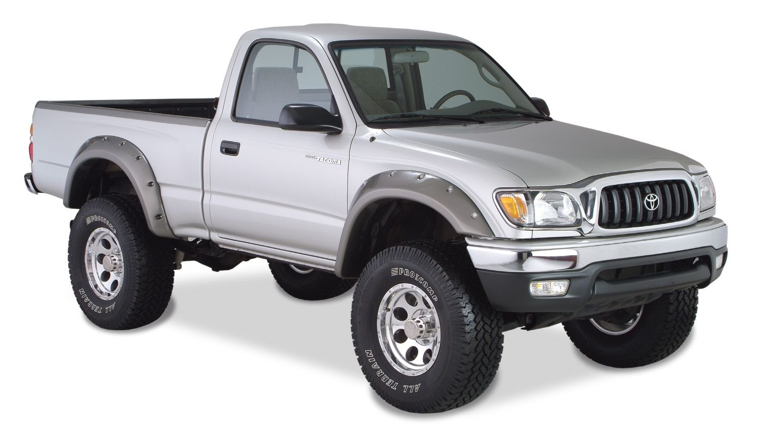 bushwacker 31919 02 cut out fender flares fits 95 04 tacoma ebay. Black Bedroom Furniture Sets. Home Design Ideas