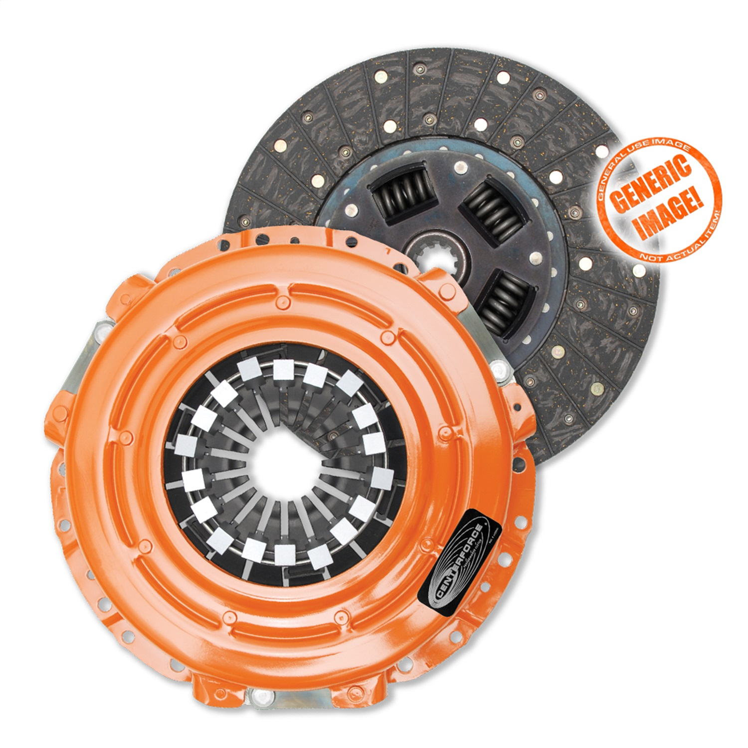 Centerforce CFT583402 Centerforce II Clutch Pressure Plate and Disc
