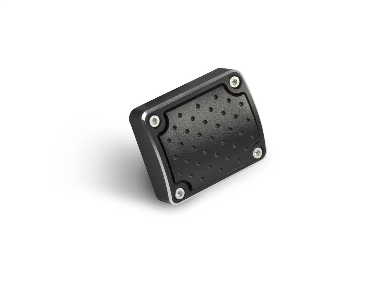 Clayton Machine Works EB-P1-G E-Brake Pedal Pad Cover Billet Aluminum Rubber Ins