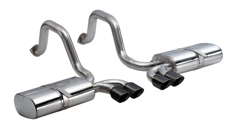 Corsa Performance 14111BLK Sport Axle-Back Exhaust System Fits 97-04 Corvette