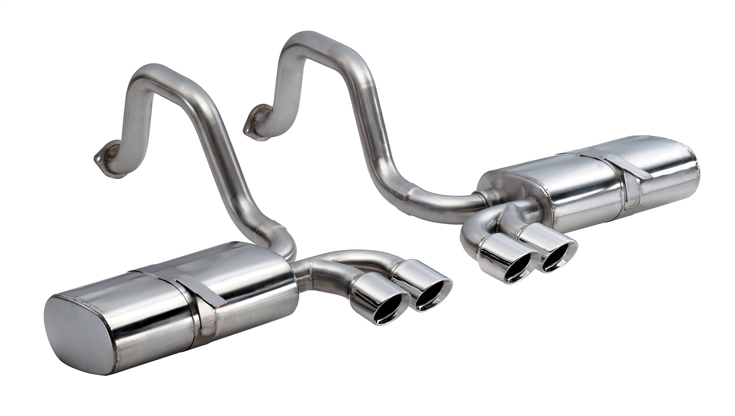 Corsa Performance 14111 Sport Axle-Back Exhaust System Fits 97-04 Corvette
