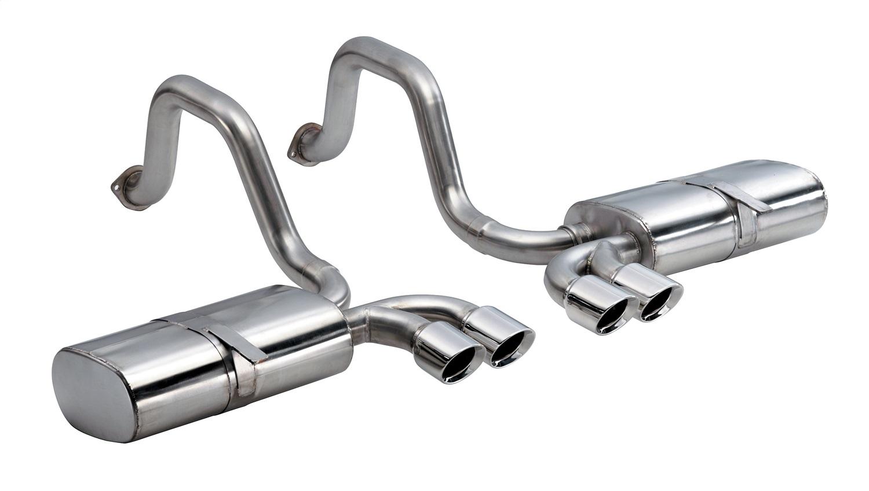 Corsa Performance 14111 Sport Axle-Back Exhaust System Fits 97-04 Corvette