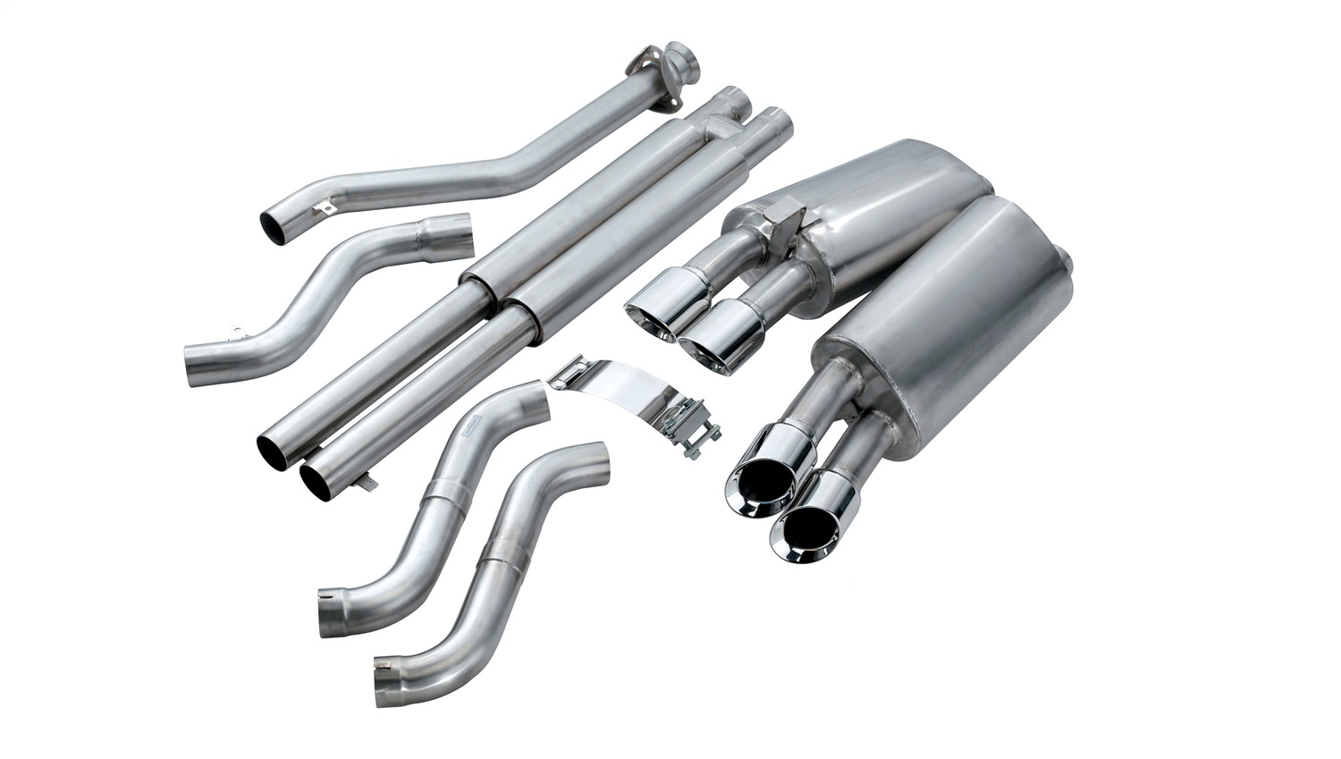 Corsa Performance 14117 Sport Cat-Back Exhaust System Fits 90-95 Corvette