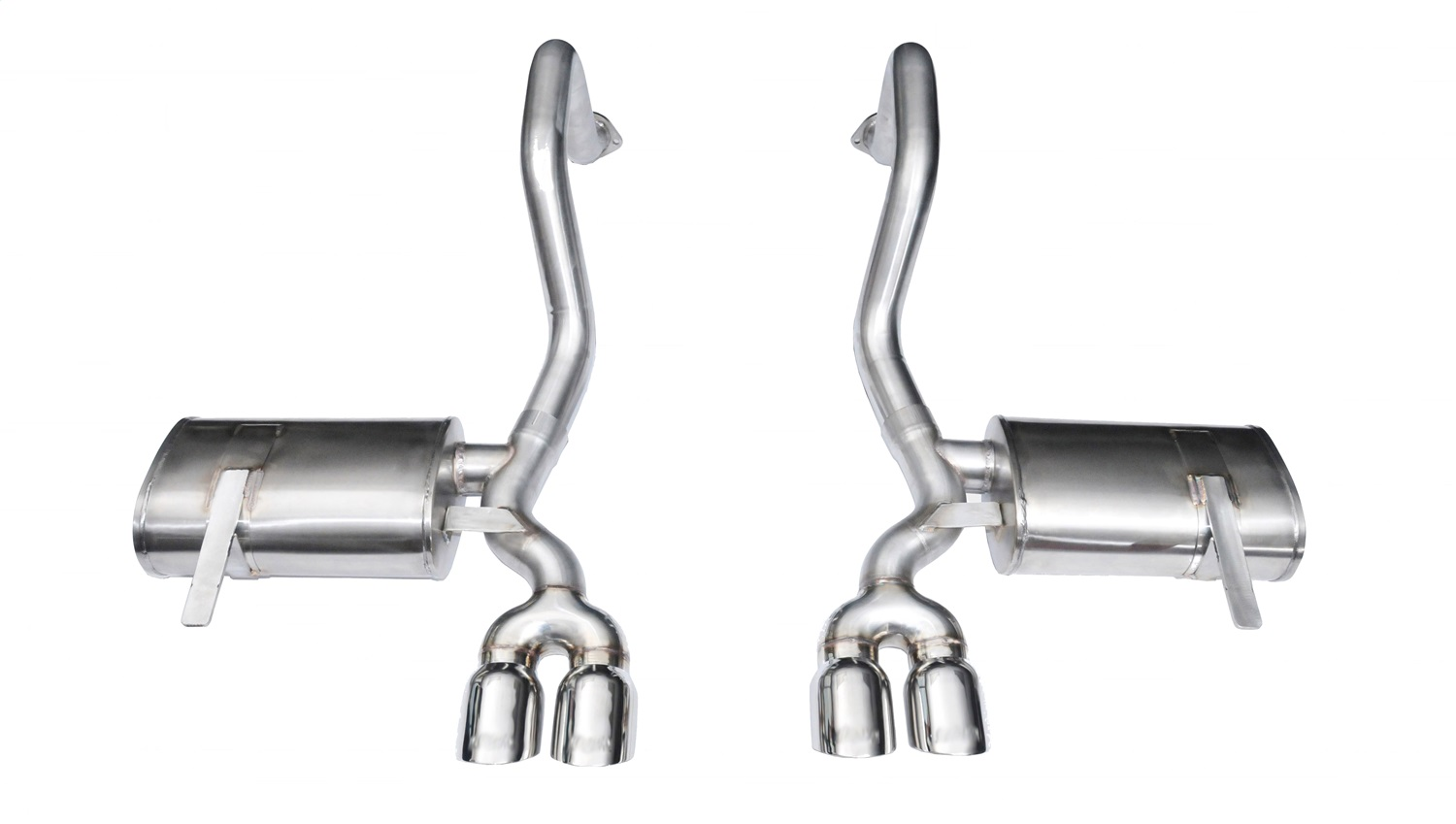 Corsa Performance 14132 Xtreme Axle-Back Exhaust System Fits 97-04 Corvette