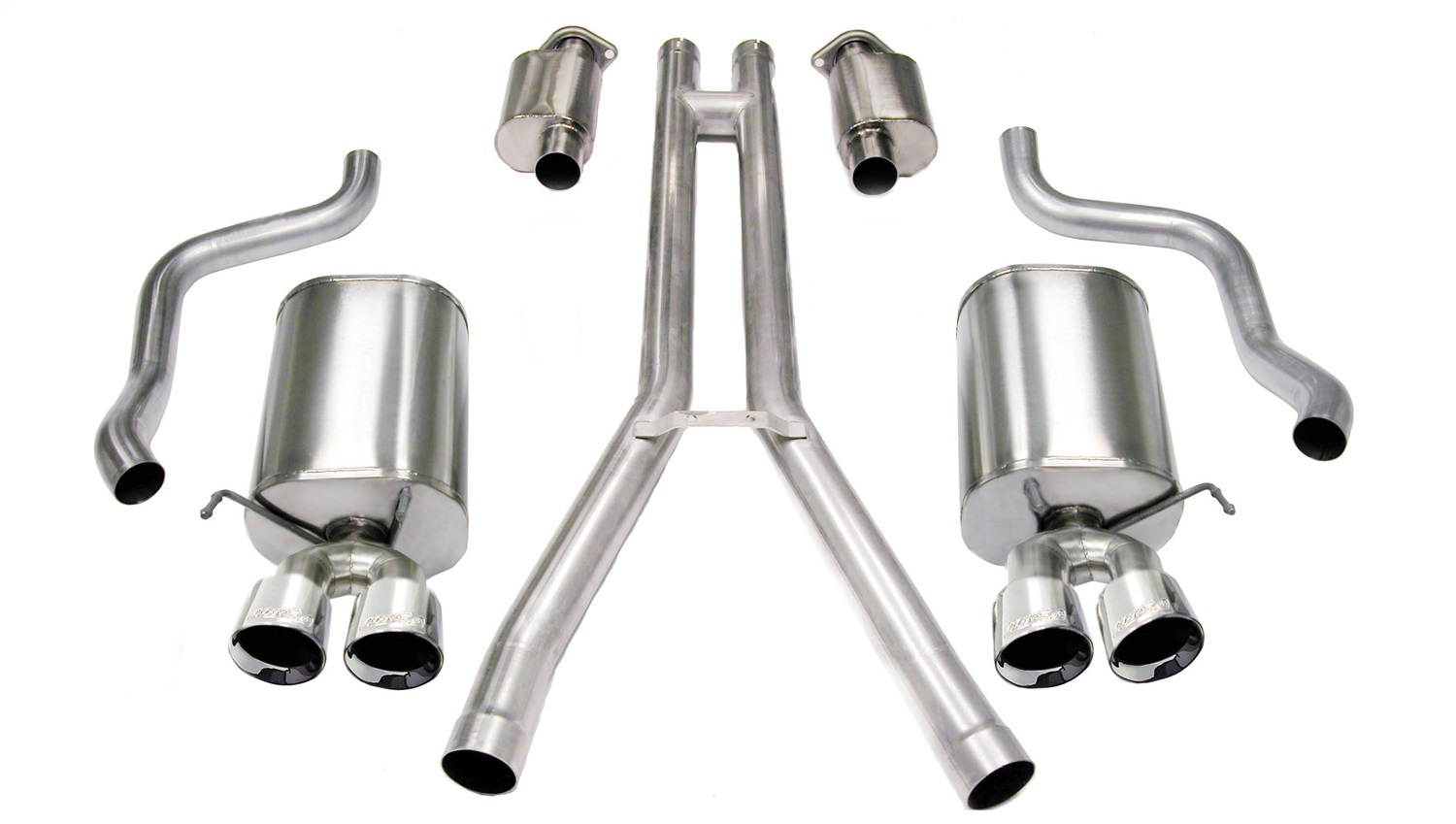 Corsa Performance 14156 Sport Cat-Back Exhaust System Fits 04-08 XLR