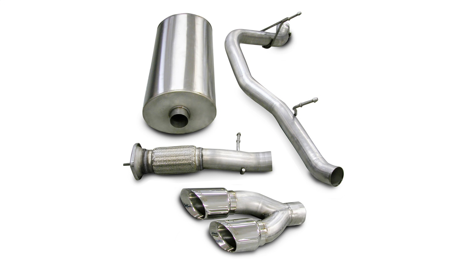 Corsa Performance 14202 Sport Cat-Back Exhaust System Fits 07-10 Escalade Yukon