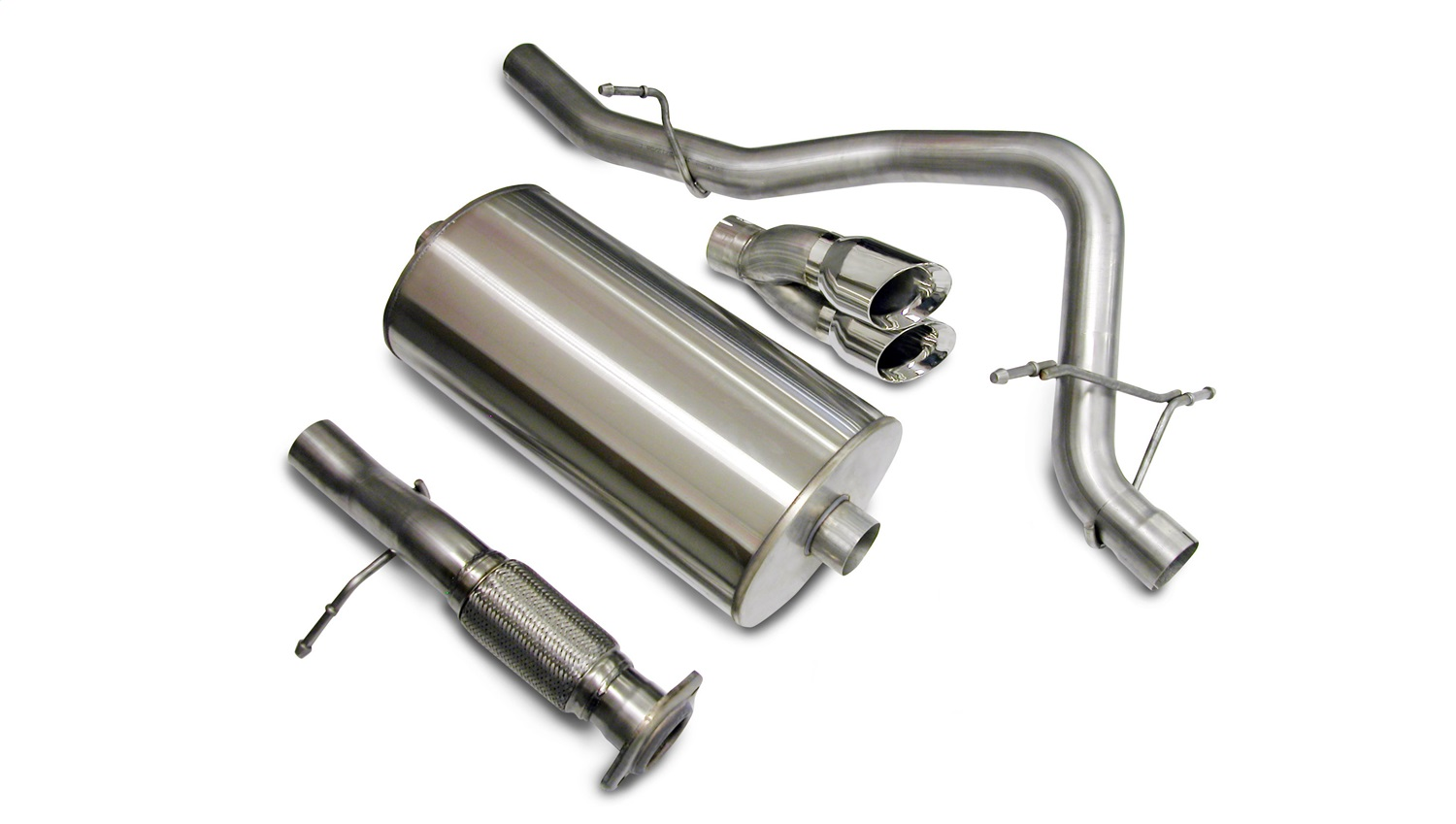 Corsa Performance 14207 Sport Cat-Back Exhaust System Fits 07-08 Tahoe Yukon