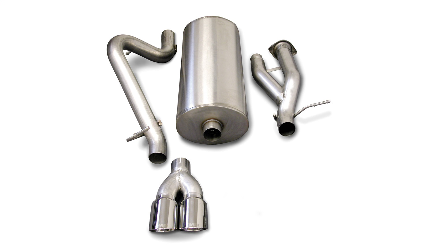 Corsa Performance 14216 Sport Cat-Back Exhaust System Fits 03-06 H2