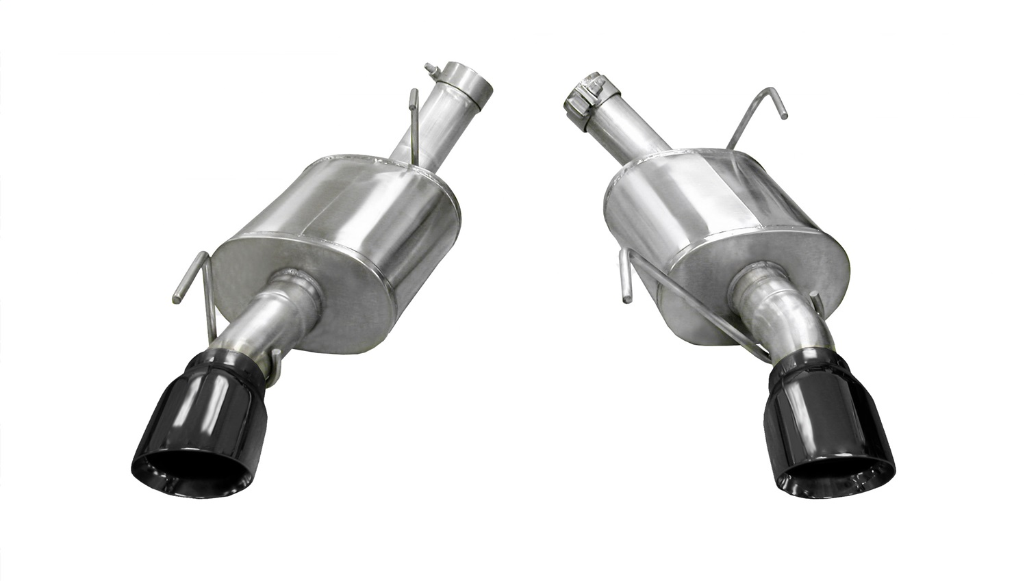 Corsa Performance 14314BLK Xtreme Axle-Back Exhaust System Fits 05-10 Mustang