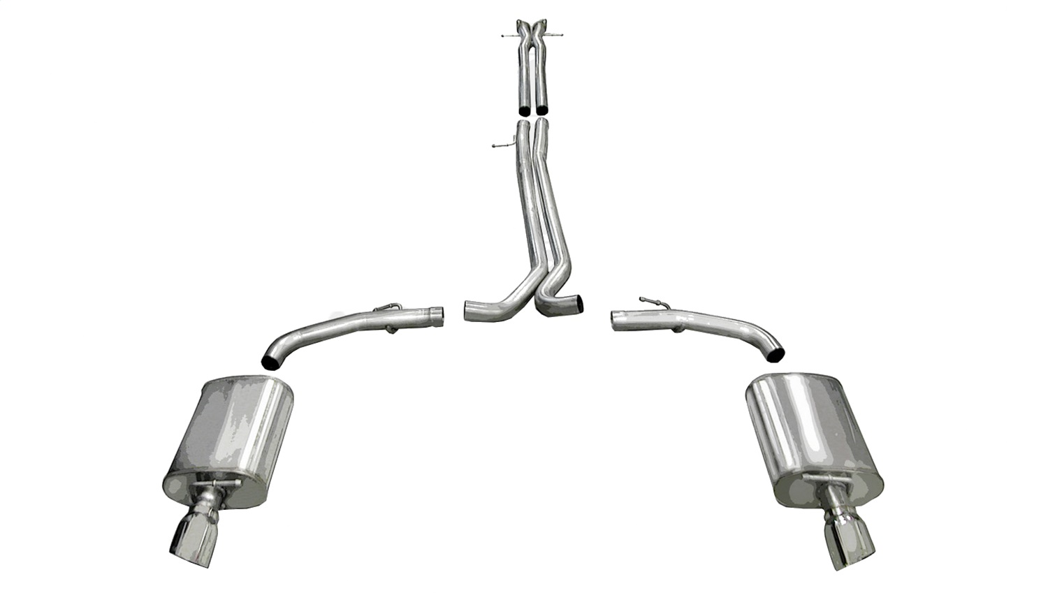Corsa Performance 14315 Sport Cat-Back Exhaust System Fits 10-17 Taurus