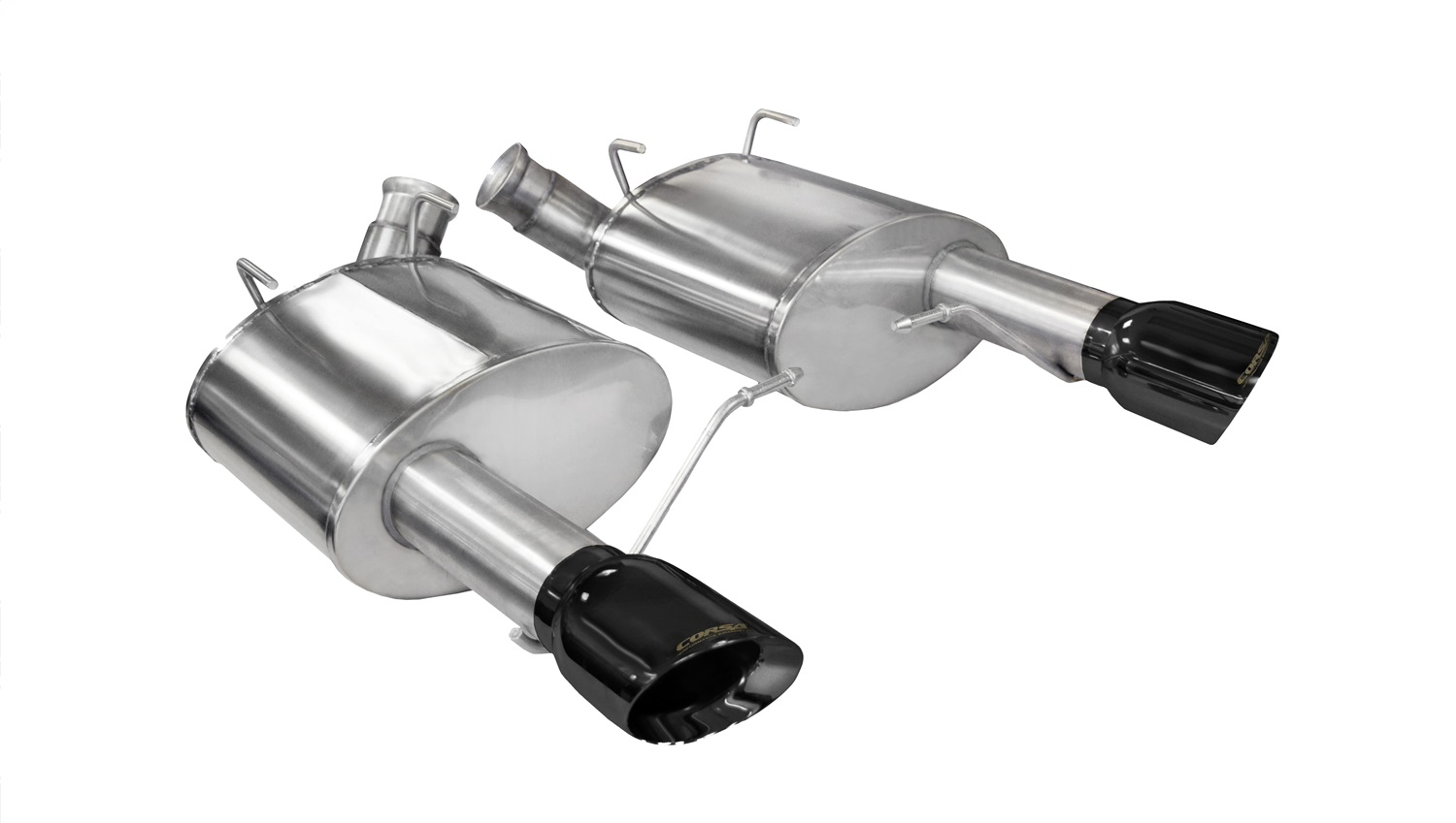 Corsa Performance 14316BLK Sport Axle-Back Exhaust System Fits 11-14 Mustang