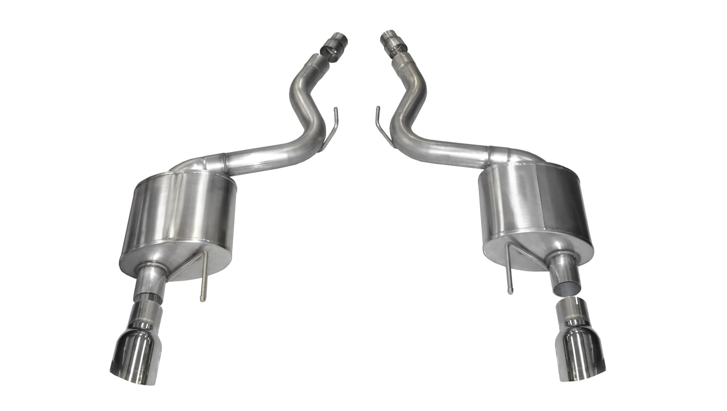 Corsa Performance 14326 Sport Axle-Back Exhaust System Fits 15-17 Mustang