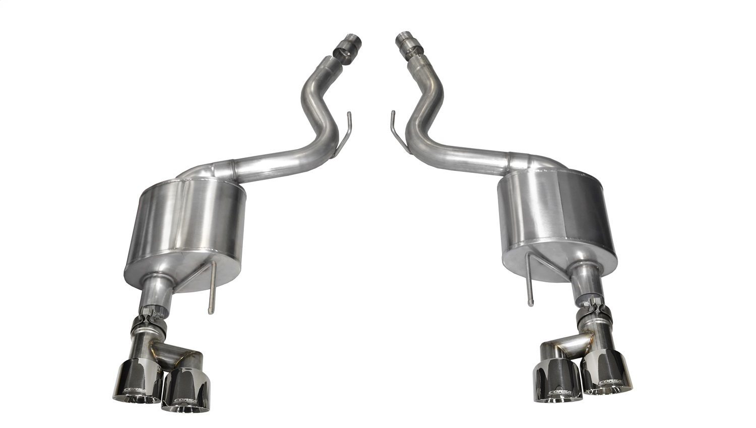 Corsa Performance 14334 Sport Axle-Back Exhaust System Fits 15-18 Mustang