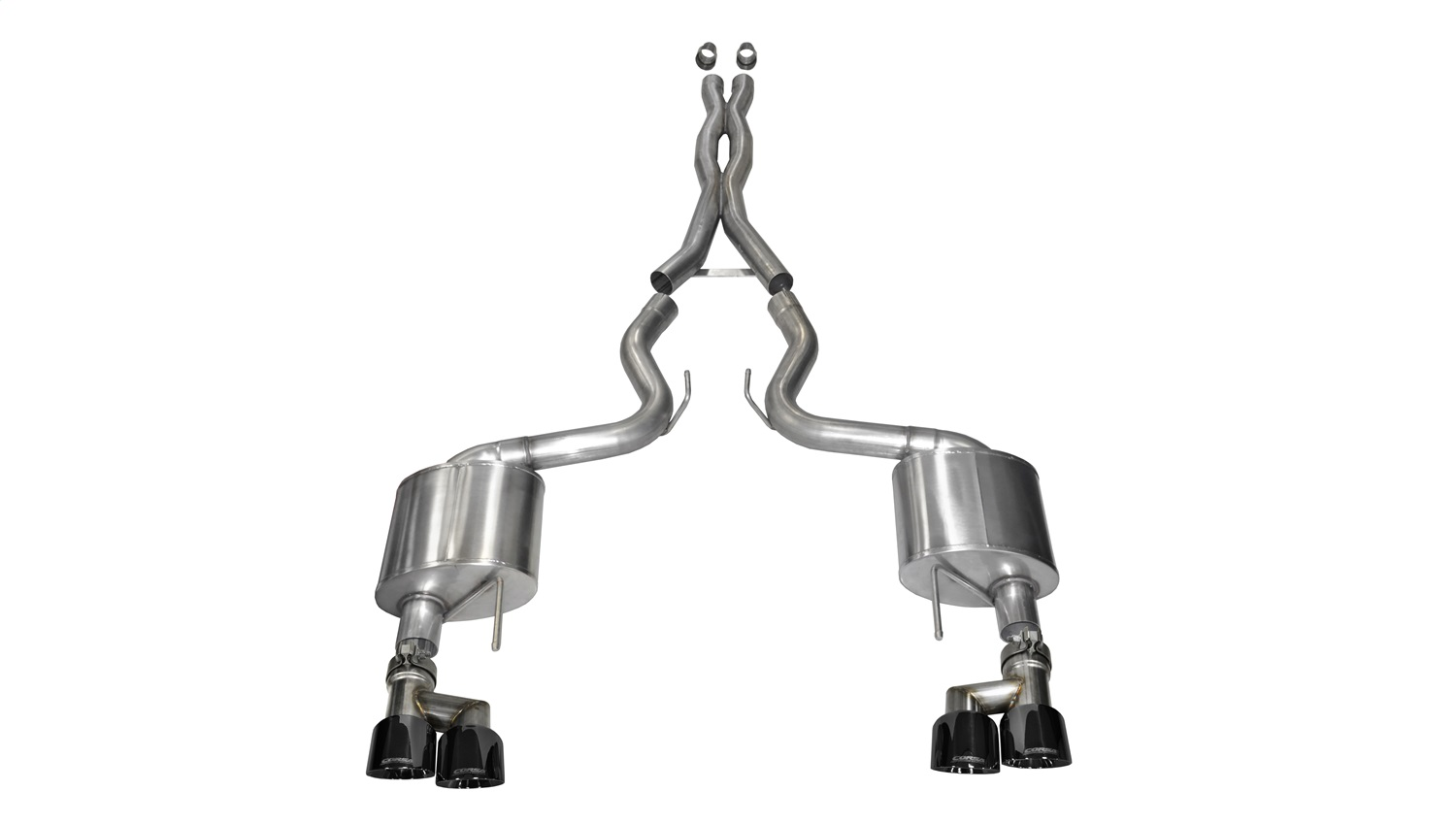 Corsa Performance 14335BLK Xtreme Cat-Back Exhaust System Fits 15-18 Mustang