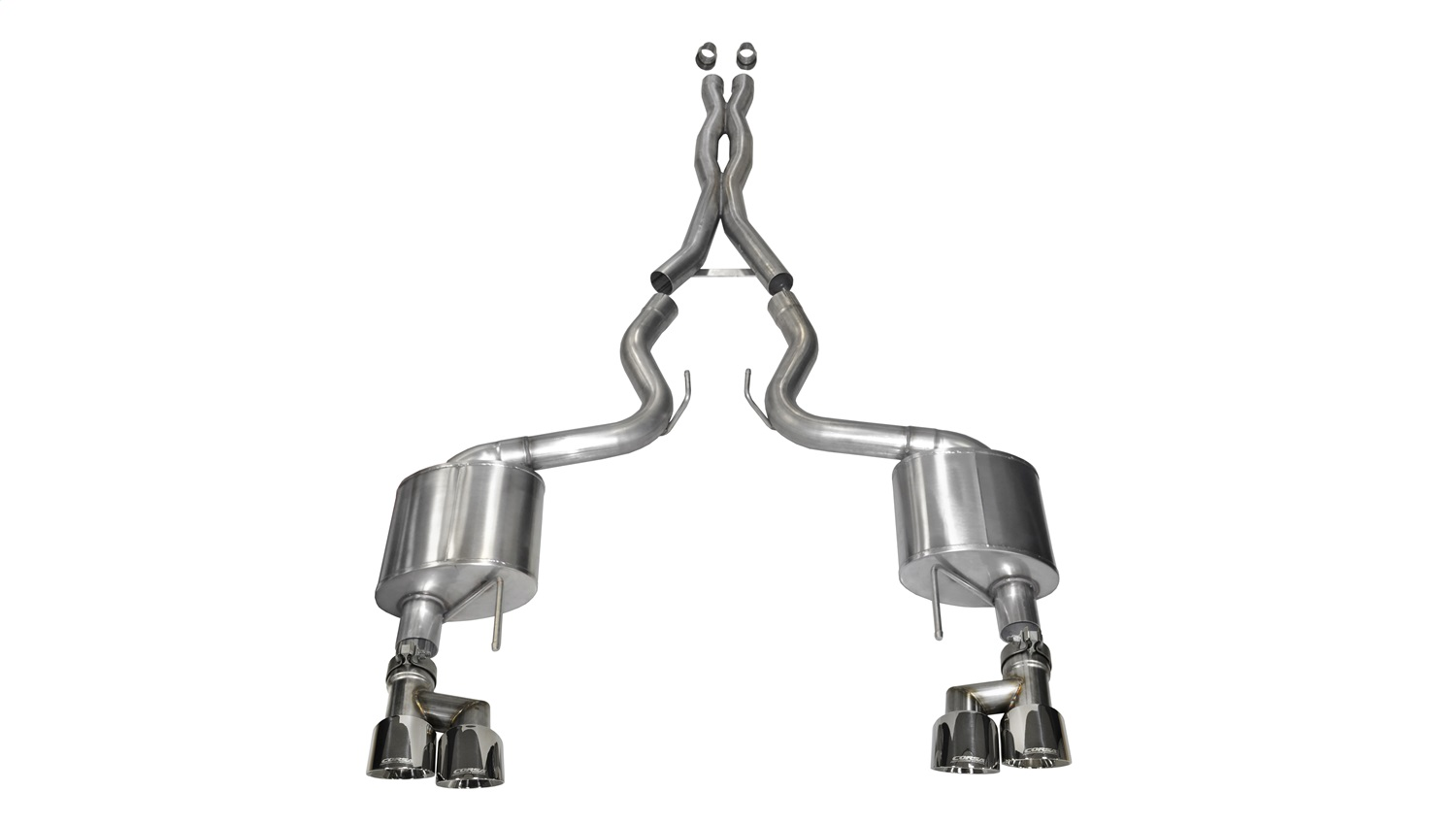 Corsa Performance 14335 Xtreme Cat-Back Exhaust System Fits 15-18 Mustang