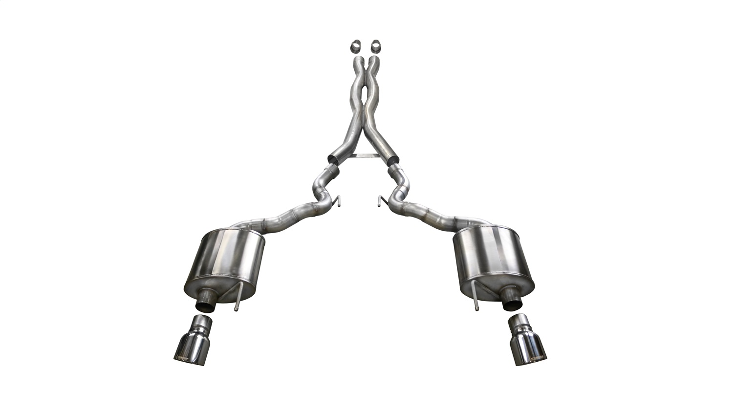 Corsa Performance 14342 Xtreme Cat-Back Exhaust System Fits 15-17 Mustang