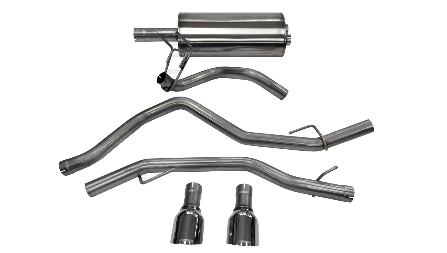 Corsa Performance 14405 Sport Cat-Back Exhaust System Fits 1500 1500 Classic